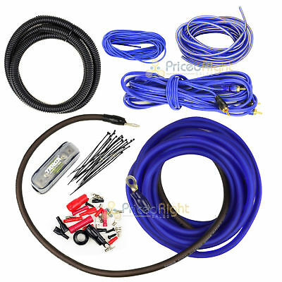 4 Gauge Amp Kit Amplifier Install Wiring Installation Power Wire Complete 4 Ga