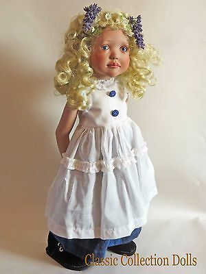 """lila"" Junior Doll By Zwergnase- 2005 Collection - 20""- Brand New- In Stock"
