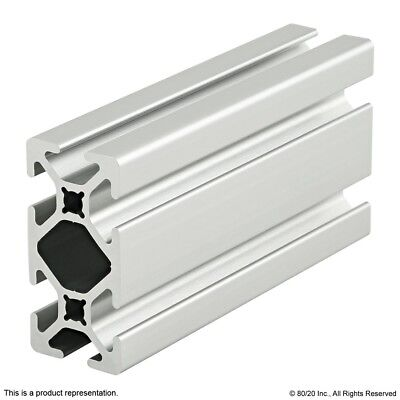 """LONG 80//20 EXTRUDED ALUMINUM SQUARE PROFILE 90mm X 90mm X 435mm 17.12/"""""""