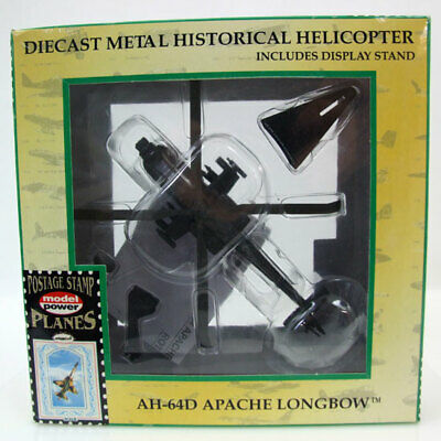 Model Power USAAF AH-64D Apache Longbow 1:100 Attack Helicopter 5600 Diecast MIB