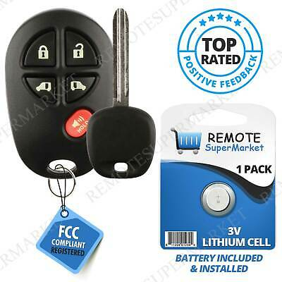 Replacement for Toyota 2011-2013 Sienna Remote Car 5b Van Key Fob Set