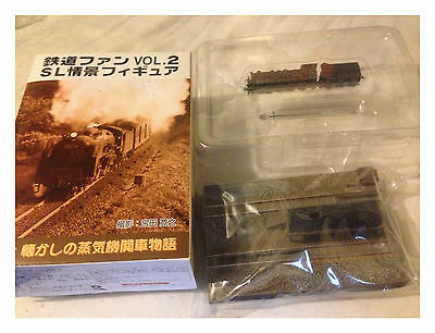 Steam Locomotive Story Railway Vol.2 No.1 Siding - SL Z Gauge Static Diorama