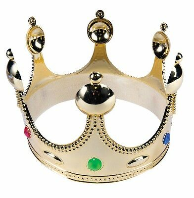Royal King Crown Renaissance Medieval Child Costume Accessory