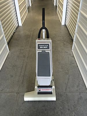 Nilfisk Advance Carpetwin Carpet Twin 16 XP Commercial Vacuum! Works!