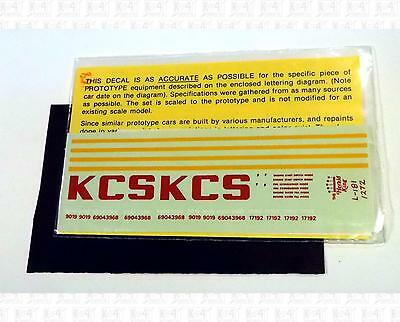 Herald King HO Decals Kansas City Southern Cab Diesel L-181