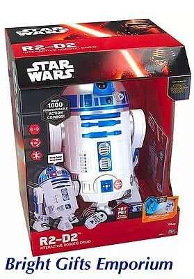 Star Wars VII Interactive Robotic Remote Control R2-D2 Droid R2D2 Rogue One NEW!