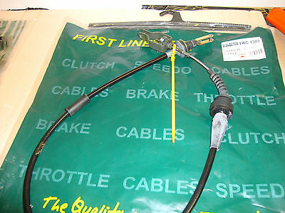 FIRST LINE CLUTCH CABLE FKC1303  NISSAN PRIMERA 2.0i  1990~96 OE Quality