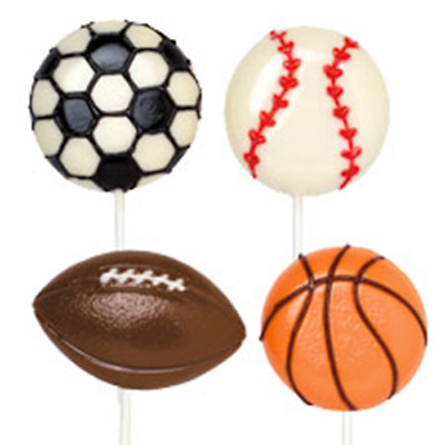 Wilton Sports Large Lollipop Mold - CHOCOLATE MOULD