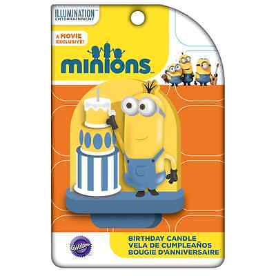 Wilton Minions / DESPICABLE ME - BIRTHDAY CANDLE