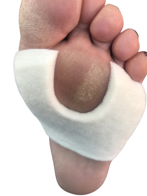 Chiropody Felt podiatry padding for painful corns, bunions, callouses, verrucas
