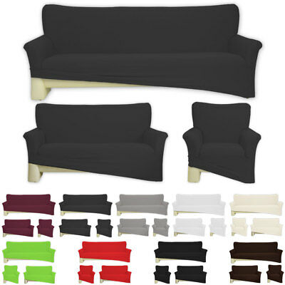 sofahusse sesselbezug baumwolle elastisch jersey. Black Bedroom Furniture Sets. Home Design Ideas