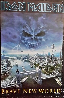 Iron Maiden.Brave New World Vintage Poster FREE INT.SHIPPING
