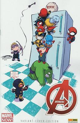 Avengers 4 (Variant Cover Edtion Comic Action 2013), Panini