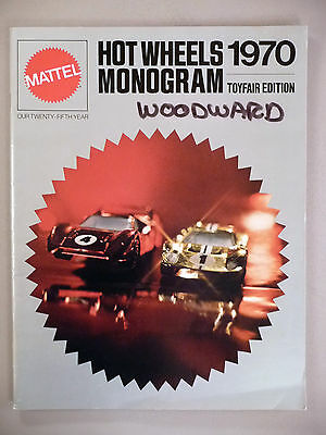 Mattel Toy CATALOG - 1970 ~~ Hot Wheels & Monogram ~ Toyfair Edition ~ toys