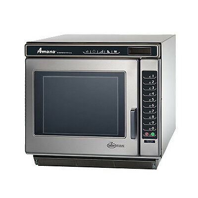 Amana RC17S2 Commercial Microwave Oven with Touch Control and Braille Touch Pad