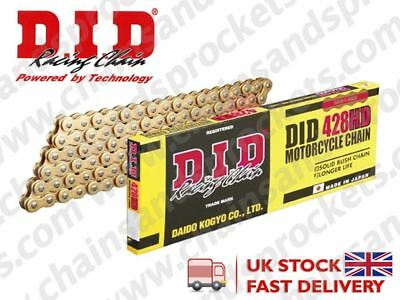DID Gold Motorcycle Chain 428HDGG 120 links fits Yamaha TY125 89