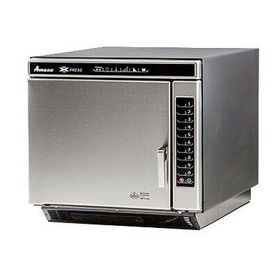 Amana ACE19N Commercial Convection-Microwave Combi Oven w/ Touch Pad