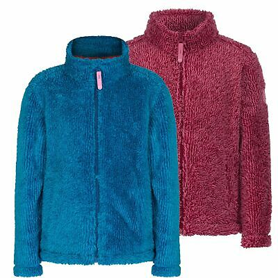 Regatta Foxton Girls Fluffy Cosy Soft Fleece Jacket Outdoor Walking Kids £12.99