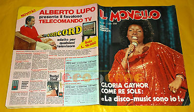 IL MONELLO n. 41 1979 Gloria Gaynor, Ilona Staller, Gepy & Gepy, The Giants
