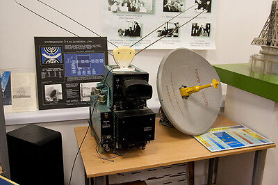 Soviet Aircraft Onboard Radio Locator Station RLS satellite antenna Military
