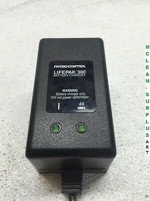 Physio Control Lifepak 300 Battery Fast Charger 804906-02 Tested & Working