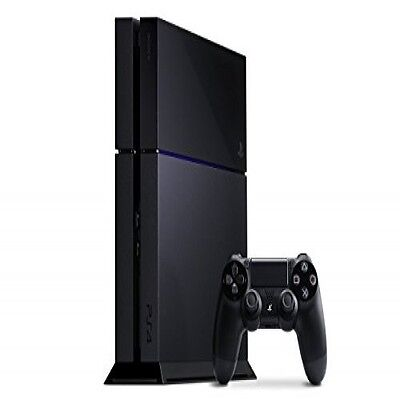Playstation 4 Console Sony Ps4 Video Game 500Gb Original Device Jet Black Gaming