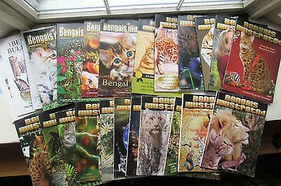 Bengals Illustrated Magazine Award Winning Publication Huge LOT (22) CATS ++