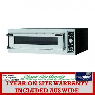 Fed Commercial Prisma Food Pizza Ovens Single Deck Bread Bakery 6X35Cm Tp-2-1-Sd