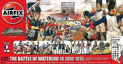 Airfix 1550174 Battle Of Waterloo 1815-2015 1:72 Schlacht Figuren Modell