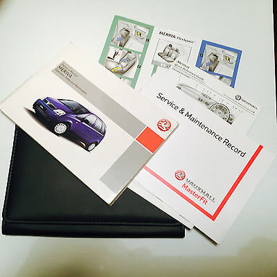 Vauxhall Meriva Handbook Wallet & Service Book Pack Pack 2003 To 2008