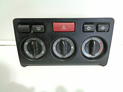 2001 - 06 Land Rover Freelander 1 Black Heater Control Panel With Air Con Switch