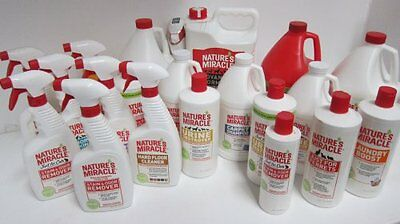 8 in 1 Natures Miracle Stain & Odour Remover for Dogs, Cats, Ferrets and Marking