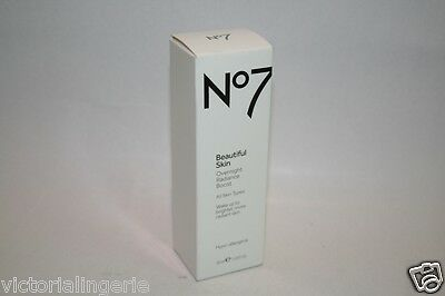 Boots No7 BEAUTIFUL SKIN Overnight Radiance Boost 30ml  BNIB NEW BOXED