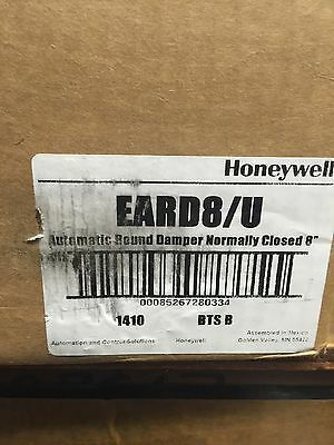 Honeywell EARD8/U Automatic Round Damper Normally Closed 8""