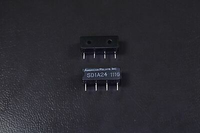 SD1A24 American Relays Single In Line Reed Relay 24V 1A 4 Pin NOS