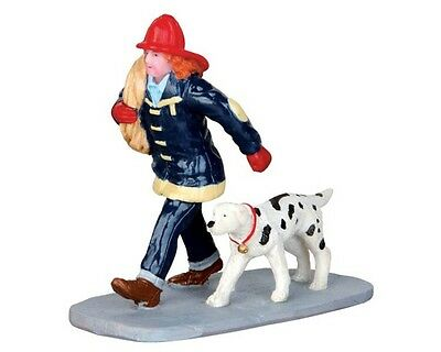 New Lemax Figurines 42262 Saving The Day Polyresin 2014