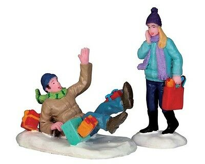 New Lemax Figurines 52360 Shopping Date Set Of Two  Polyresin 2015