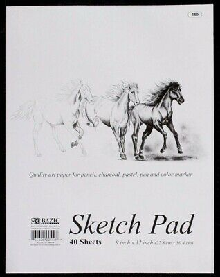 60 Sheets A5 Visual Art Diary / 40 Pages Sketch Pad 22.8 x 30.4cm Paper Drawing