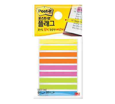 3M Post-it Flag 1 pack 180 Sheets bookmark point Sticky Note - 683T-9KE-