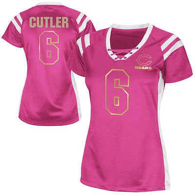 d3d15803e JAY CUTLER Chicago Bears DRAFT HIM style JERSEY Shirt Womens Medium ...