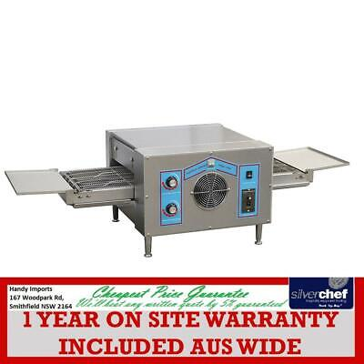 Fed Commercial Pizza Conveyor Oven Belt Sweets Bread Bakery Baker Ovens Hx-2Sa