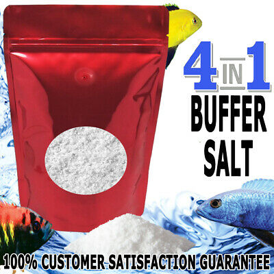 Aquaholics Aquarium Fish 4in1 Riftlake Salt Buffer African Cichlids GH KH PH 1KG