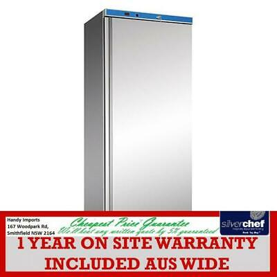 Fed Commercial Stainless Steel Freezer Full Height Standing Food Factory Hf400