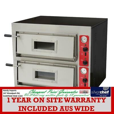 Fed Commercial Germany's Black Panther Pizza Sweet Bake Double Deck Oven Ep-1-Sd