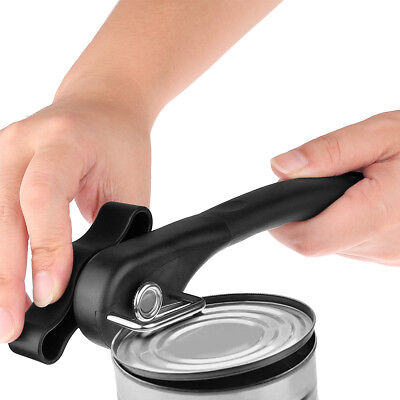 Ergonomic Manual Can Opener Cans Lid Lifter Smooth Edge Side Cut Home Accessory