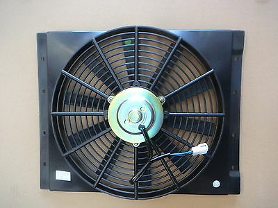 Universal Radiator Condenser Thermo Fan Thermofan 14 Inch x 100mm with Shroud