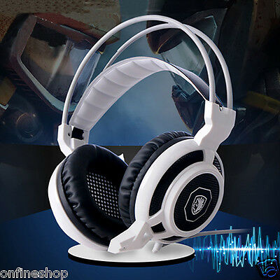 SADES Surround Stereo Noise Cancel Pro Gaming Headset USB Headphone With Mic