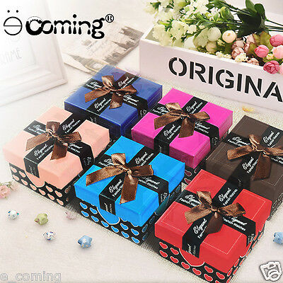 11 Print Jewelry Storage Case Collector Organizer Watch Box Party Gift Holder