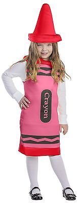 Dress up America Toddler T2 Crayon Costume Set (Red) 1-2 years