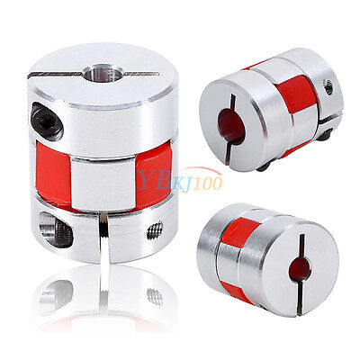 Flexible Plum Shaft Coupling CNC Stepper Motor Encoder Coupler D 25mm L30mm New